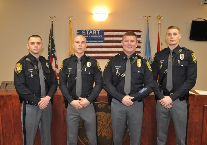 Law Enforcement Ranks >> Stafford Police Welcome New Officers – Shore News Network