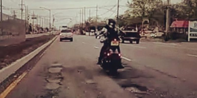Video: Route 37 Motorcycle Crash Highlights State of