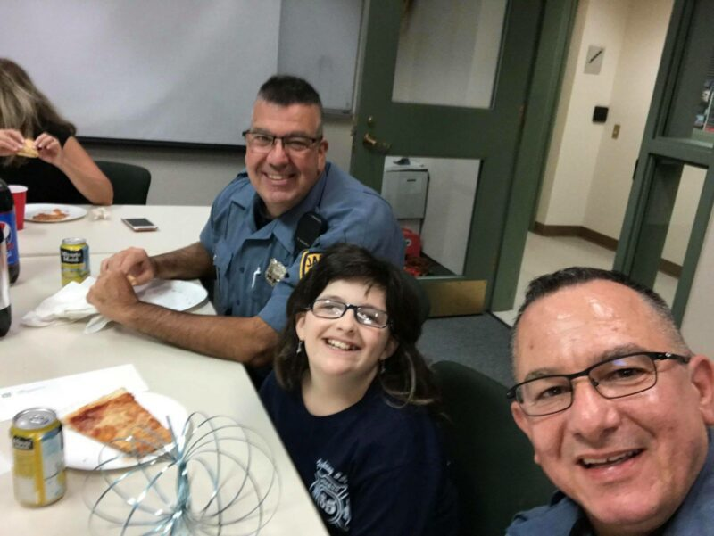 Girl Who Ran Lemonade Stand for Police Officers Receives