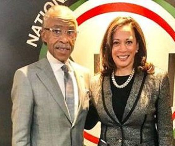Image result for sharpton kamala