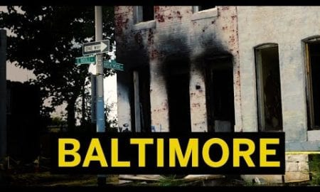 Burned Out Buildings, Gang Signs, and Trash – Drive Through Baltimore