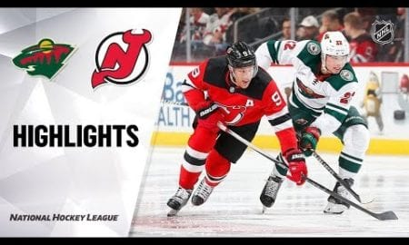 NHL Highlights | Wild @ Devils 11/26/19