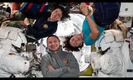 Thanksgiving Video Message from NASA Astronauts in Space