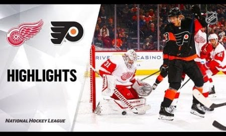 NHL Highlights | Red Wings @ Flyers 11/29/19