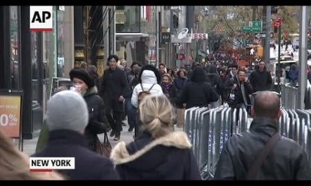 AP: Braving the cold on Black Friday for holiday deals