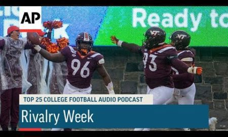AP: AP Top 25 Podcast: Rivalry Week