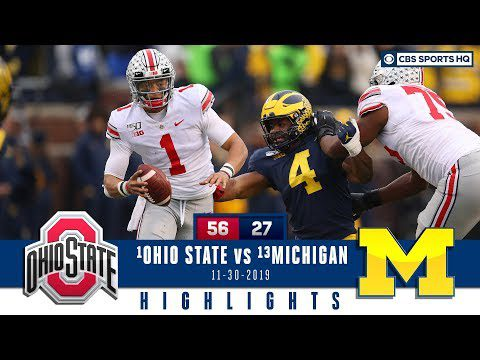 #2 Ohio State vs #10 Michigan Highlights: Buckeyes beat Wolverines for record run   CBS Sports HQ