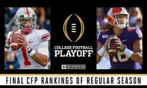 Final CFP Rankings of Regular Season: Utah moves up to No. 5, Oklahoma at No. 6 | CBS Sports HQ