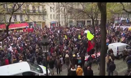 AP: French unions launch chaotic nationwide strikes