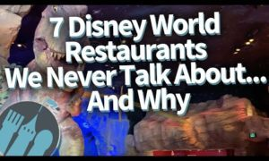 7 Disney World Restaurants We Never Talk About…And Why!