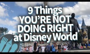 9 Things You're NOT Doing Right at Disney World