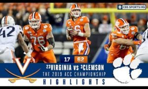 2019 ACC Championship Highlights: #3 Clemson wins record 5th straight ACC title | CBS Sports HQ