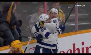 Stamkos sets up Kucherov for pretty OT winner