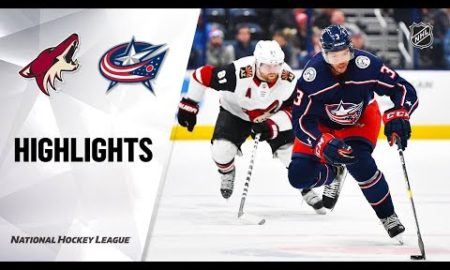 NHL Highlights | Coyotes @ Blue Jackets 12/3/19