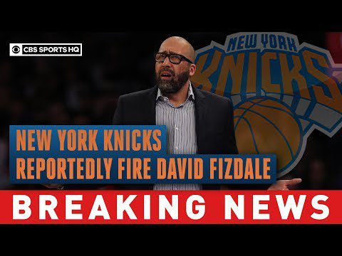 New York Knicks reportedly fire David Fizdale after 4-18 start to 2019-20 season | CBS Sports HQ