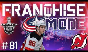 "NHL 20 Columbus Franchise Mode |#81| ""ROUND 2 VS NEW JERSEY"""