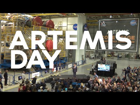 Highlighting the Most Powerful Rocket Ever Built at Artemis Day