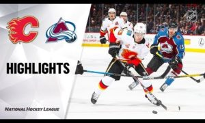 NHL Highlights | Flames @ Avalanche 12/9/19