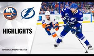 NHL Highlights | Islanders @ Lightning 12/9/19