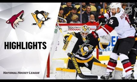 NHL Highlights | Coyotes @ Penguins 12/6/19