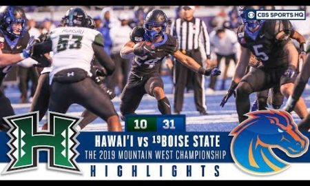 Mountain West Championship Highlights: #19 Boise State tops Hawai'i 31-10 | CBS Sports HQ