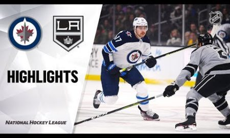 NHL Highlights | Jets @ Kings 11/30/19