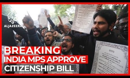 World News: India's Parliament approves contentious citizenship bill