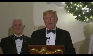 President Trump and The First Lady Attend the Congressional Ball