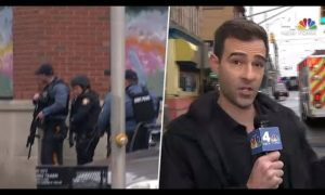 Jersey City Active Shooter: Gunshots Send WNBC Crew Running for Cover | NBC New York