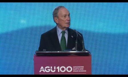 AP: Bloomberg talks climate in Calif. campaign trip