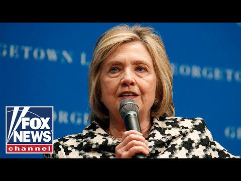 Fox News Report: Hillary Clinton says she's under 'enormous pressure' to enter 2020 race