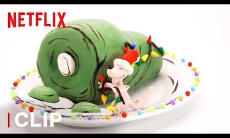Entertainment: Green Eggs and Ham Cake Challenge | Nailed It! Holiday S2 | Netflix