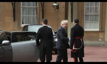 AP: Johnson visits queen to ask to form government