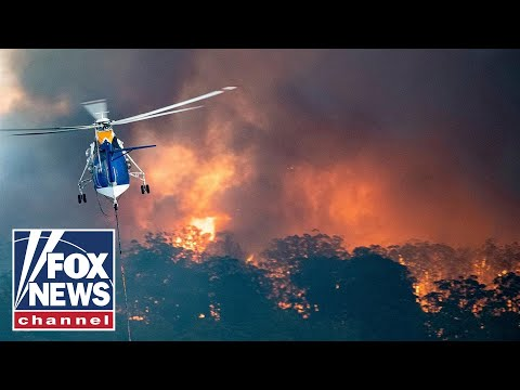 Fox News Report: Australian wildfires blamed for at least 17 deaths