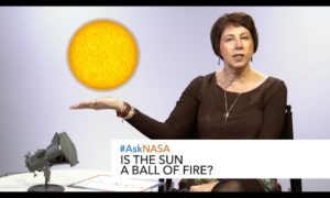 #AskNASA┃ Is the Sun a ball of fire?