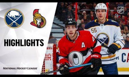 NHL Highlights | Sabres @ Senators 12/23/19