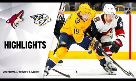 NHL Highlights | Coyotes @ Predators 12/23/19