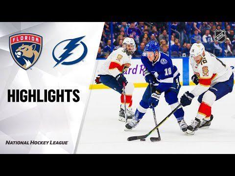 NHL Highlights   Panthers @ Lightning 12/23/19