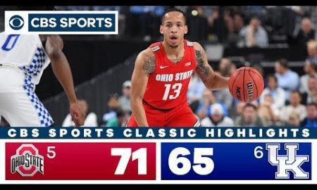 Ohio State vs Kentucky Highlights: #5 Buckeyes look solid in win against #6 Wildcats | CBS Sports