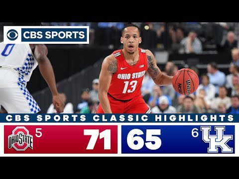 Ohio State vs Kentucky Highlights: #5 Buckeyes look solid in win against #6 Wildcats   CBS Sports