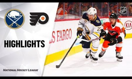 NHL Highlights | Sabres @ Flyers 12/19/19
