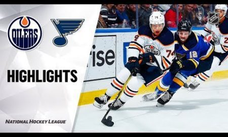 NHL Highlights | Oilers @ Blues 12/18/19
