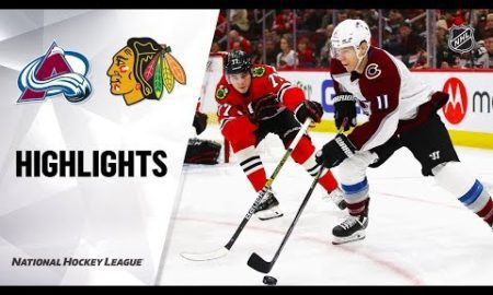 NHL Highlights | Avalanche @ Blackhawks 12/18/19