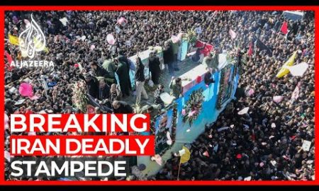 World News: Stampede at Soleimani's funeral kills 35, injures many others