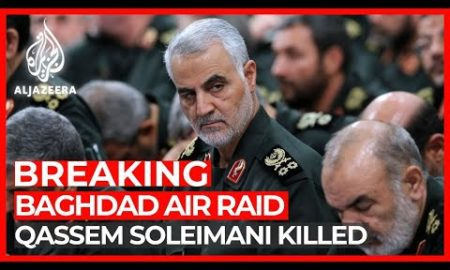 World News: Iran's Qassem Soleimani killed in US air raid at Baghdad airport