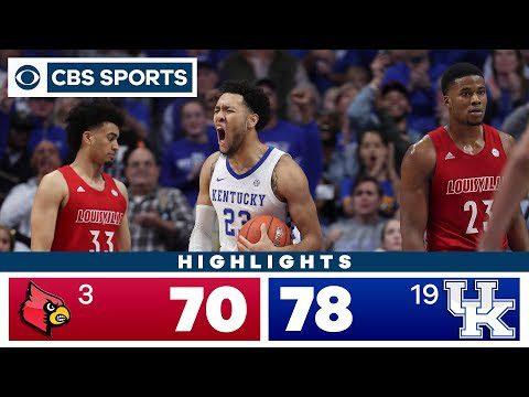 Louisville vs Kentucky Highlights: #19 Wildcats outlast #3 Cardinals for OT victory   CBS Sports