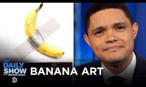 A Cursive Comeback in New Jersey & Art Basel's Pricey Banana Exhibit | The Daily Show
