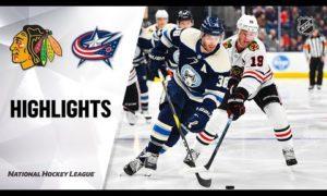 NHL Highlights | Blackhawks @ Blue Jackets 12/29/19