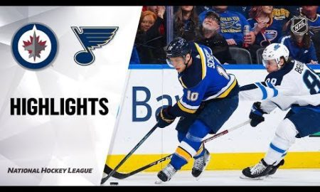 NHL Highlights | Jets @ Blues 12/29/19