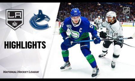 NHL Highlights | Kings @ Canucks 12/28/19